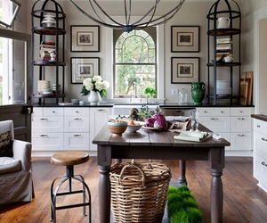kitchen, country living, and farmhouse style image