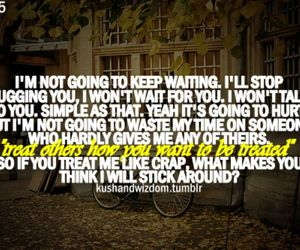 heartbreak, qoute, and waiting image