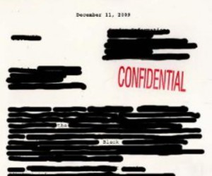 whispers and confidential memo image