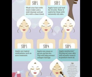 face, helpful, and clear skin image
