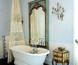 bathroom, home, and victorian image