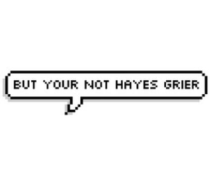 tumblr and hayes grier image