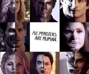 tvd, the vampire diaries, and monster image