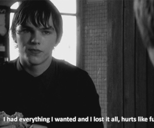 quote, sad, and skins image