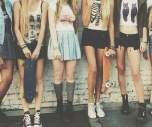 girl, friends, and outfit image