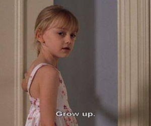 90s, dakota fanning, and grow up image