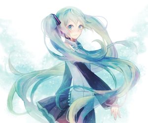 vocaloid, miku, and hatsune image