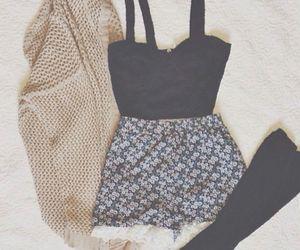 fashion, clothes, and shorts image