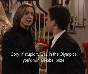 boy meets world, funny, and lol image