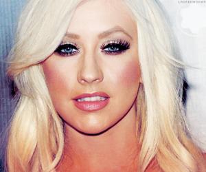 amazing, blue eyes, and christina aguilera image
