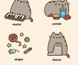 amo, cosas, and pusheen the cat image