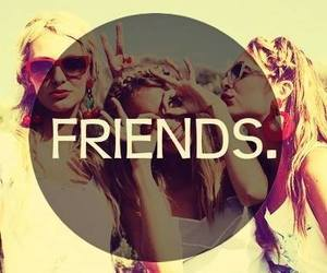 friends, bff, and forever image