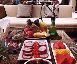 fruit, food, and shisha image