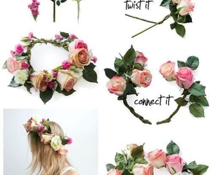 awesome, flower, and flower crown image