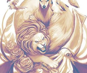 Animales, lion, and perfect image