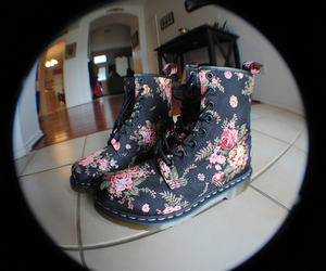 shoes, floral, and pink image