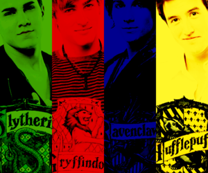 harry potter, carlos pena jr, and video image