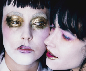 CocoRosie and makeup image