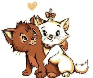 cat and disney image