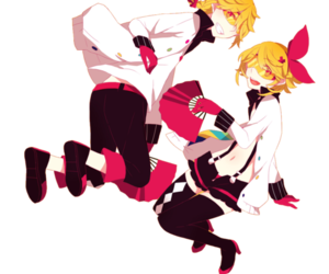 render, vocaloid, and rin kagamine image