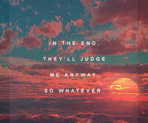 cry, sunset, and judge image