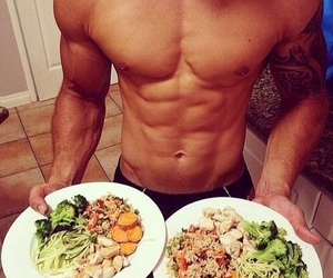 dinner, Hot, and guy image