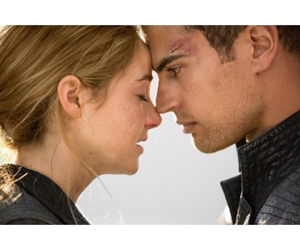 divergent, couple, and fourtris image