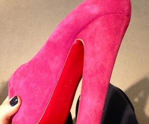shoes, pink, and cute image