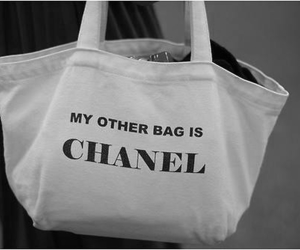chanel, bag, and funny image