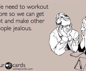 workout, Hot, and jealous image