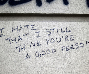 good, hate, and person image
