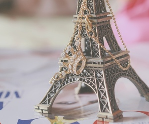 paris, eiffel tower, and crown image
