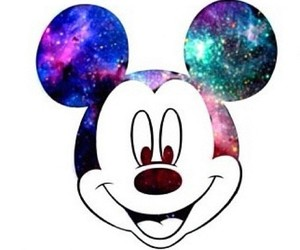 disney, galaxy, and mickey image