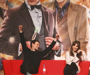 doctor who, matt smith, and jenna coleman image