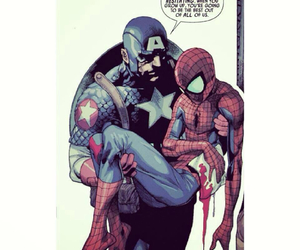 captain america, comic, and Marvel image
