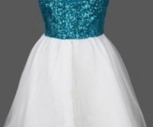 girly, glitter, and prom dress image