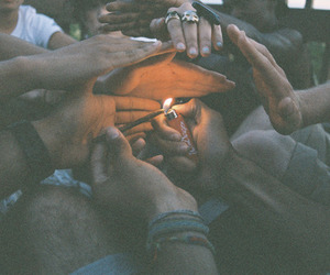 fire, together, and friends image