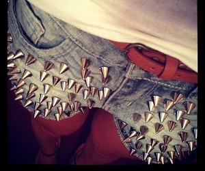 fashion, shorts, and spikes image