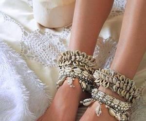 boho, fashion, and anklet image