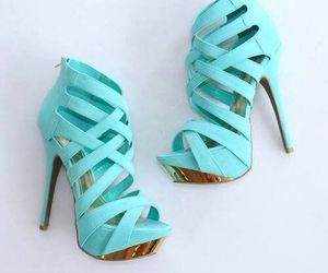 beautiful, high heels, and style image