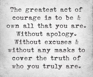courage, quotes, and truth image
