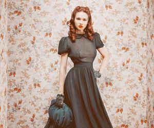 fashion, dress, and vintage image