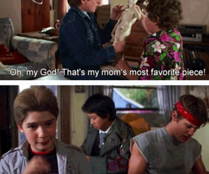 funny, the goonies, and 80's movies image