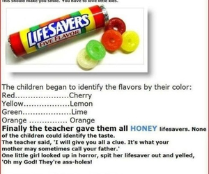 colors, conversation, and lifesavers image