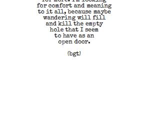 depression, grunge, and poem image