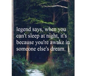 Dream, legend, and love image