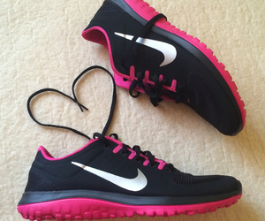 nike, heart, and run image