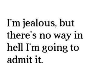 quote, boy, and jealous image