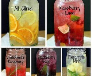 drink, fruit, and healthy image