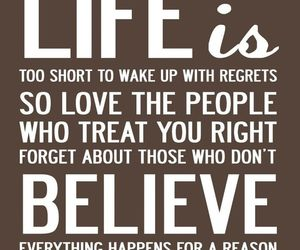 life, believe, and quote image